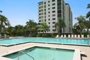 Admiralty Point II pool and building