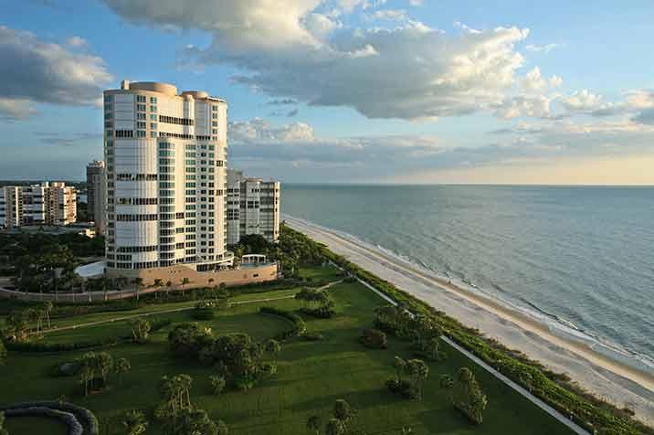 Enclave At Park Shore waterfront condos in Naples, FL