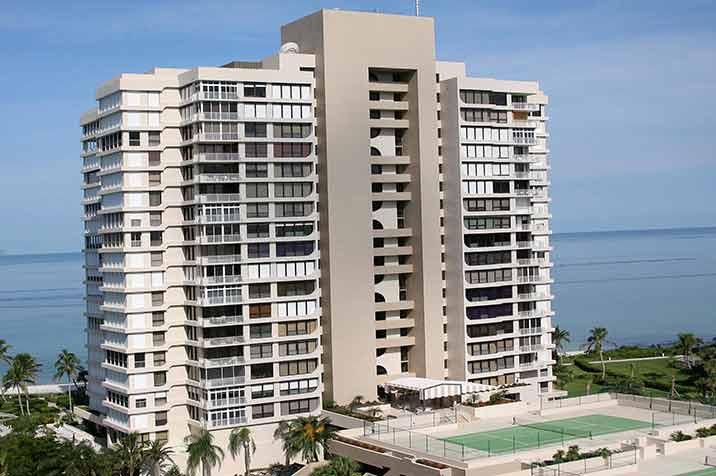 Park Plaza waterfront condos in Naples, FL