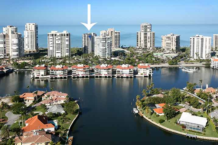 Park Shore Tower waterfront condos in Naples, FL