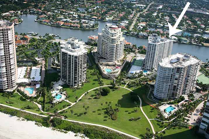 Solamar waterfront condominiums in Naples, FL