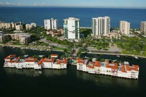Venetian Villas waterfront condos in Naples, FL
