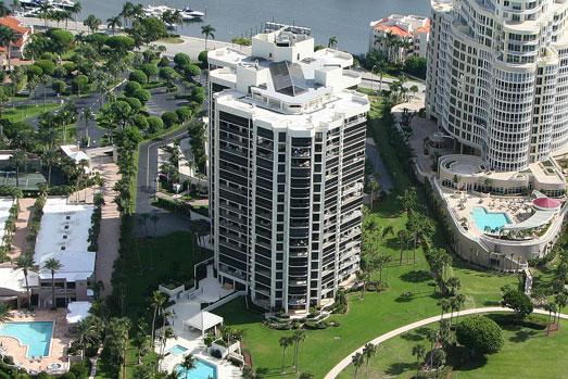 Esplanade Club waterfront condos in Naples, FL