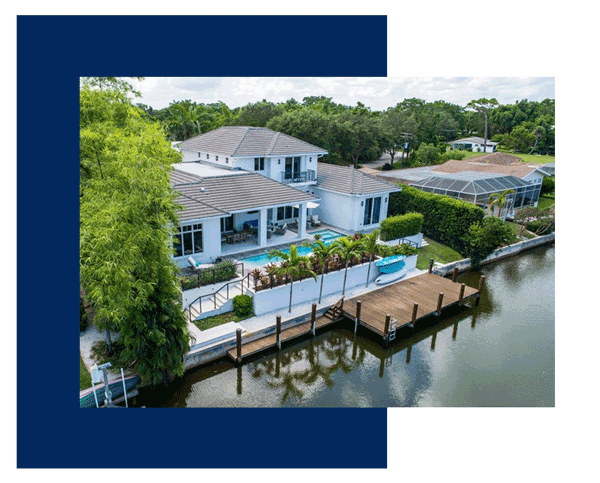 Naples home on the bay
