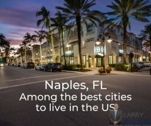 Downtown Naples, FL, Naples is one of the best small cities to live in