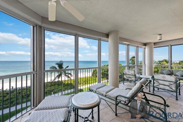 Le Parc 203 waterfront condo for sale in Park Shore in Naples, FL