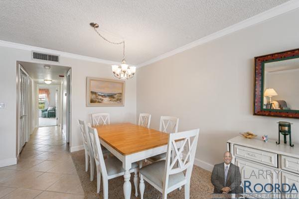 Jennifer Shores #105 Waterfront Condominium for sale in Naples, FL, dining room
