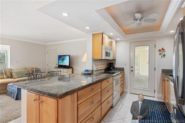 Jennifer Shores #105 Waterfront Condominium for sale in Naples, FL, kitchen