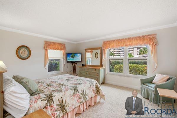 Jennifer Shores #105 Waterfront Condominium for sale in Naples, FL, bedroom