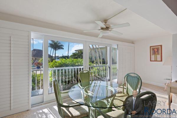 Jennifer Shores #105 Waterfront Condominium for sale in Naples, FL, patio