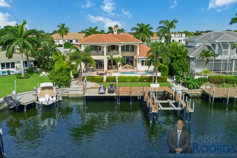 Waterfront home for sale in Naples, FL